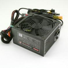 Sursa modulara 750w, 2 mufe pt placa video(6+8), certificare 82%, garantie!!! - Sursa PC MS Tech, 750 Watt