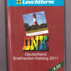 Catalog timbre Germania DNK 2011, folosit