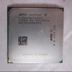 Procesor AMD Athlon II X4 620 Quad-core 2.6 GHZ socket AM2+ AM3 - ADX620WFK42GI - Procesor PC AMD, Numar nuclee: 4, 2.5-3.0 GHz