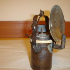 Lampa carbid minerit vintage nr.1