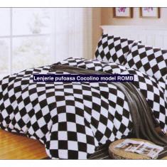 Lenjerie pufoasa de pat Cocolino + produs cadou - Lenjerie de pat