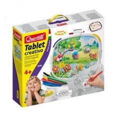Joc Educativ Tablet Creativo Quercetti Decoratii Magnetice