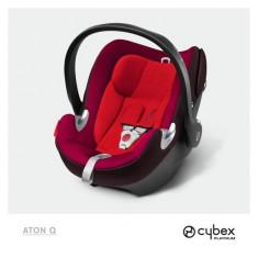 Scoica auto Aton Q Strawberry (Rosu) Cybex - Scaun auto bebelusi grupa 0+ (0-13 kg)