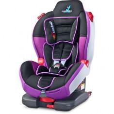 Scaun auto 9-25 kg Turbofix cu Isofix Purple Caretero - Scaun auto bebelusi grupa 0+ (0-13 kg)