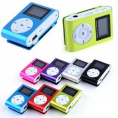 Mini Player MP3 digital cu radio si display