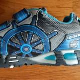Adidasi Geox Sport Respira baietei; marime 31 (19.5 cm talpic);impecabili ca noi