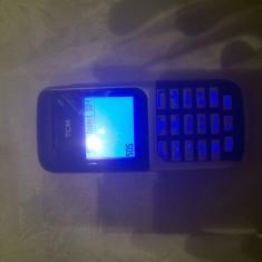 Telefon Alcatel C62 Editie Tchibo TCM necodat+incarcator!, Negru, Nu se aplica, Neblocat, Single SIM, Fara procesor
