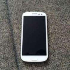 Samsung Galaxy S3 I9300 white stare foarte buna, perfecta stare func!PRET:390lei - Telefon mobil Samsung Galaxy S3, Alb, 16GB, Neblocat, Dual core, 1 GB