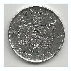 ROMANIA MIHAI I 200 LEI 1942 ARGINT [5] livrare in cartonas - Moneda Romania
