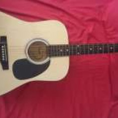 Vând chitara acustica Fender Squier SA-105