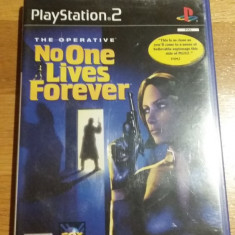PS2 The operative No one lives forever / joc original PAL by WADDER - Jocuri PS2 Sierra, Actiune, 16+, Single player