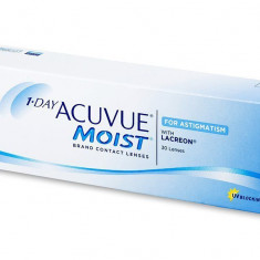 Lentile de contact 1-DAY ACUVUE MOIST for ASTIGMATISM