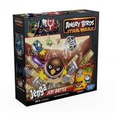 Jucarie Angry Birds Star Wars Jenga Jedi Battle Game Hasbro
