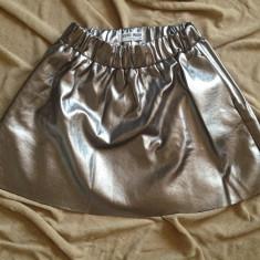 Fusta Vero Moda, Marime: XS, Culoare: Argintiu