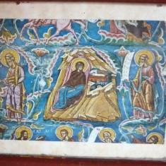 Icoana veche litografie Sf. Grigore - Icoana litografiate