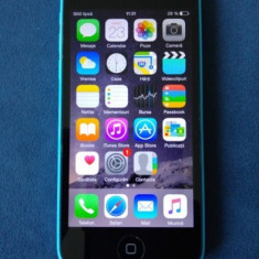 iPhone 5C Apple 16GB ALBASTRU / BLUE NEVERLOCKED !!, Neblocat