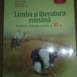Vand manual Romana clasa a-XI-A Editura Art - Manual scolar art, Clasa 11
