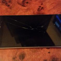 Huawei P8, geam crapat, single sim, liber de retea - Telefon Huawei, Gri, 16GB, Neblocat
