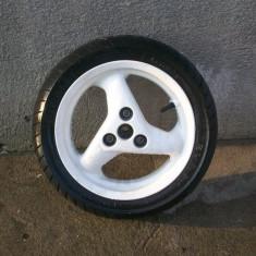 Roata fata scuter Peugeot in stare foarte buna. - Jante scutere