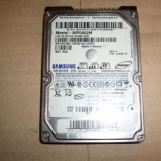 HDD laptop Samsung 40gb ide ata, Sub 40 GB