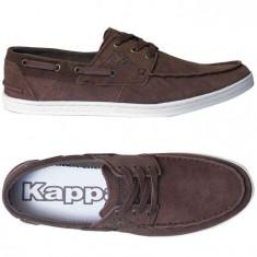 MOCASINI Pantofi ORIGINALI 100% KAPPA adusi din Italia PIELE nr 41 - Adidasi barbati, Culoare: Din imagine