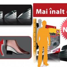 B-Tall- Inaltator din silicon pentru pantofi, Mai inalt cu 5 cm, Culoare: Din imagine