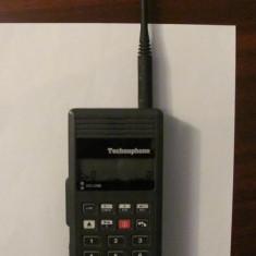 PVM - Telefon mobil vechi TECHNOPHONE emisie satelit produs 1988 Marea Britanie