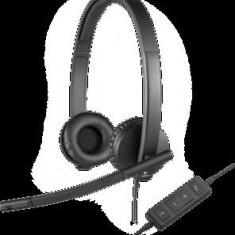 USB Stereo Headset H570e - Casti Telefon Logitech