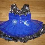 Costum carnaval serbare rochie gala dans pentru copii de 1-2 ani marime S - Costum Halloween, Marime: Masura unica, Culoare: Din imagine