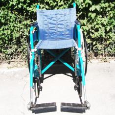 CARUT CU ROTILE (SCAUN RULANT) PENTRU PERSOANA CU DIZABILITATI (HANDICAP) - Scaun cu rotile
