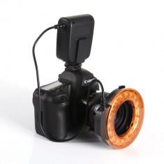 Macro Ring Flash Blitz MK-FC 110 pt. Nikon, Canon, Olympus, Panasonic, Fuji, etc. - Blitz circular, Aparat foto digital