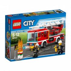 LEGO City Camion de pompieri cu scara