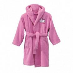 HALAT DE BAIE ROSE HELLO KITTY - Prosop baie copii