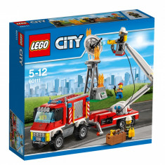 LEGO City Fire Camion utilitar de pompieri