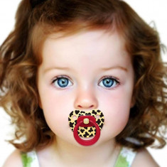 Bibi Suzeta Altele silicon Tiger 0 luni + marca elvetiana nou nascuti - suzete, 0-6 luni