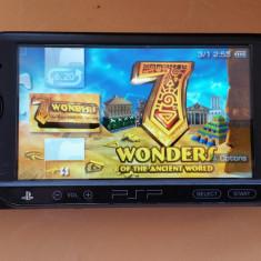 Consola PSP Sony E1000 MODATA PSP Sony FAT MODAT Card 8 GB + 96 Jocuri Pe Carduri