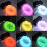 Fir electroluminescent neon flexibil EL Wire 3, 2 mm, cu margine