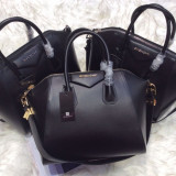 Genti Givenchy Antigona Limited Edition Grey, Silver, Gold Accesories * 1 * - Geanta Dama Givenchy, Culoare: Din imagine, Marime: Masura unica, Geanta de umar, Piele